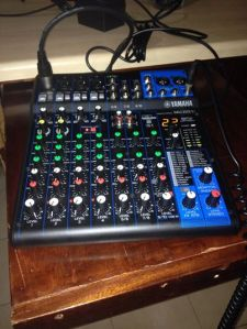 "A 4 channel mixer - or as a fan called it ""the nipple twister"""